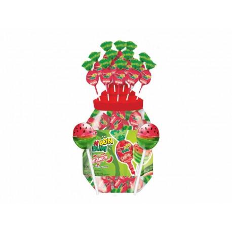 Bon bon bumm rágós nyalóka watermelon 17g