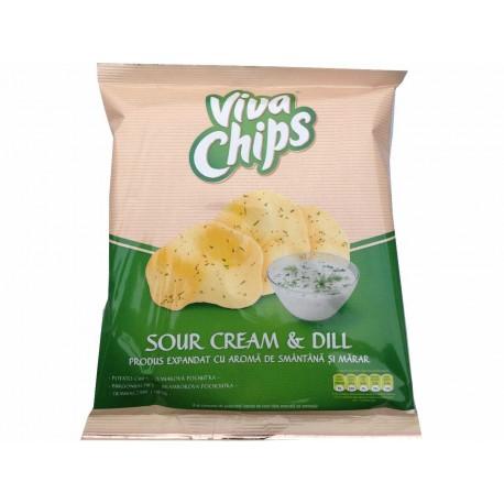 Viva chips kapros-tejfölös 50g