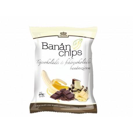 Tejcsokoládés banánchips 80g