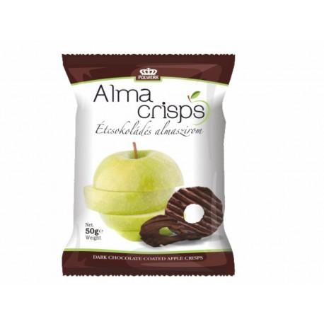 Étcsokoládés almaszirom 50g